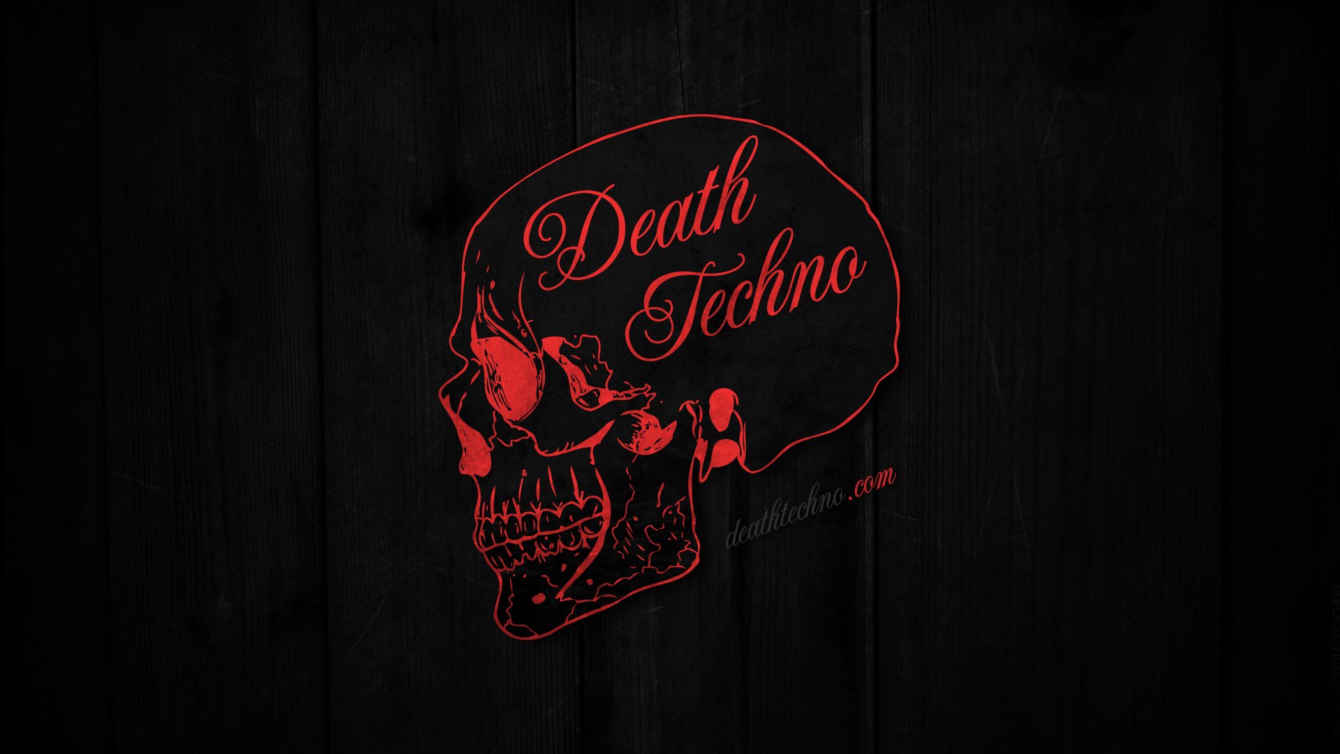 Death Techno Wallpaper 2013.1 HD 1920 x 1080