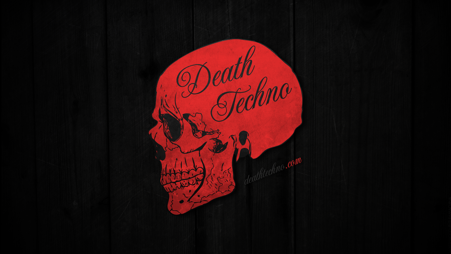 Death Techno Wallpaper 2013.2 HD 1920 x 1080