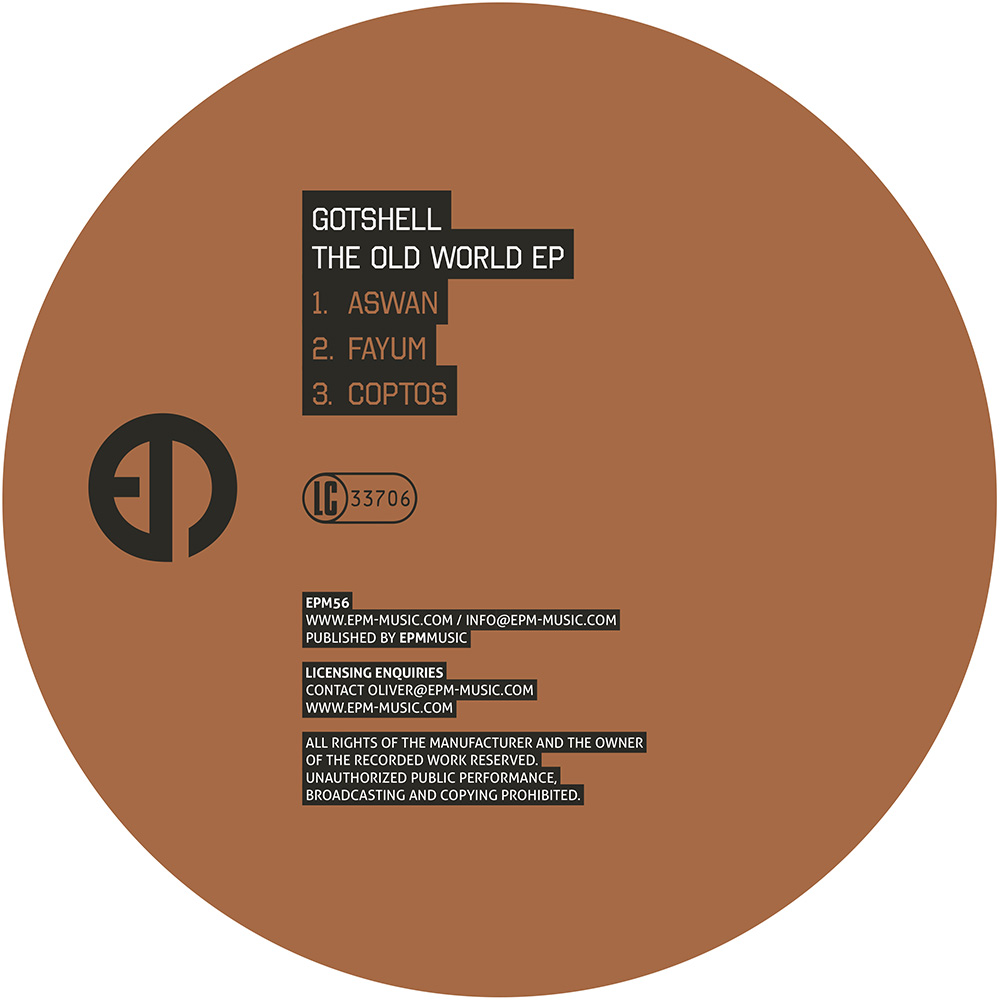 EPM56 - Gotshell - The Old World EP