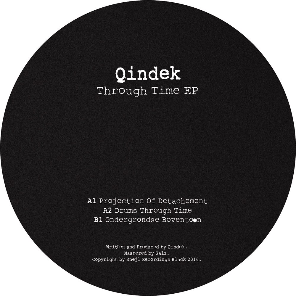 SNBLCK004 - Qindek - Through Time EP - B