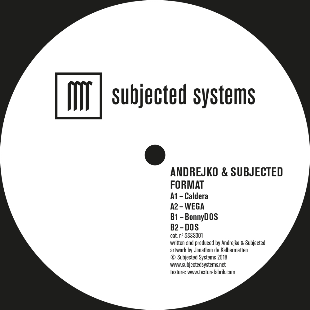 SSSS001 - Andrejko & Subjected - Format B